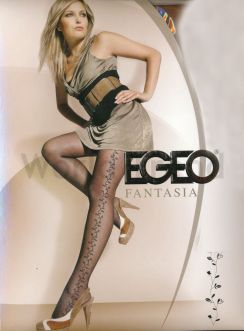 Egeo Flower patterned 15 Denier Tights