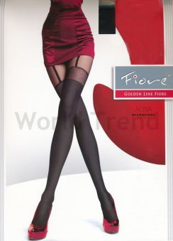 Fiore Alpia 60 Denier Suspender patterned Tights