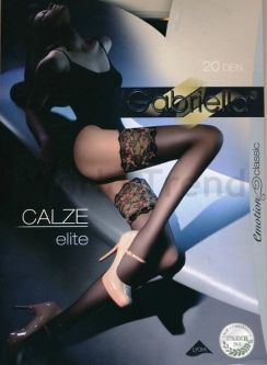 Gabriella Elite 20 Denier Lace Hold Ups