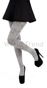 Pamela Mann Fairisle Love Heart Cotton Denier Tights
