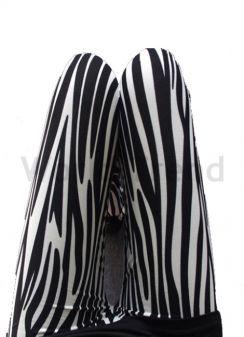 33a587e8d1 40 den Alatti Mintás Leggings - színes leggings, fekete leggings ...
