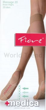 Fiore Massage Knee High 20 Denier
