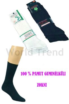 100% Cotton Anklesocks without Rubber