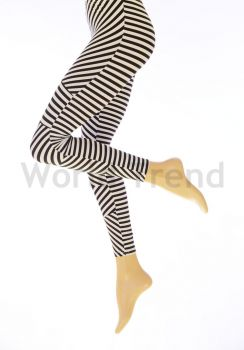 Geometric stripes Leggings