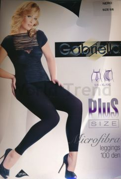 Gabriella Plus Size Thick 100 Denier Leggings